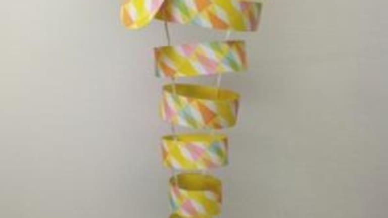 Sculpture de papier - carpes japonaises