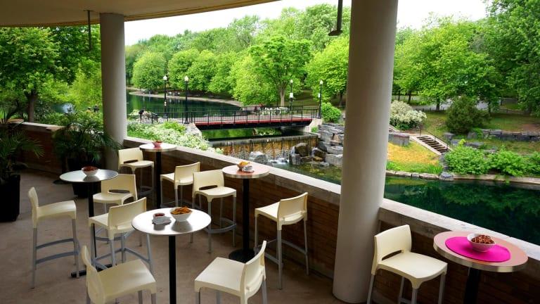 Chalet-resto parc La Fontaine