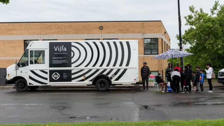 photo du camion de l'expomobile