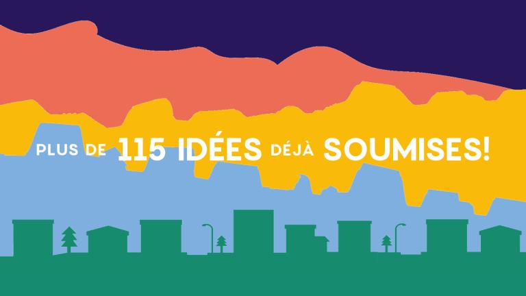 Budget participatif Mercier-Est_Plus de 115 idées déjà soumises!