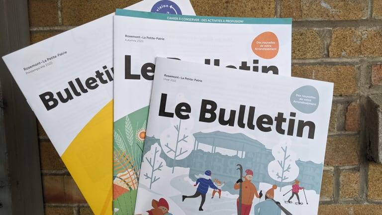 Bulletins Rosemont–La Petite-Patrie