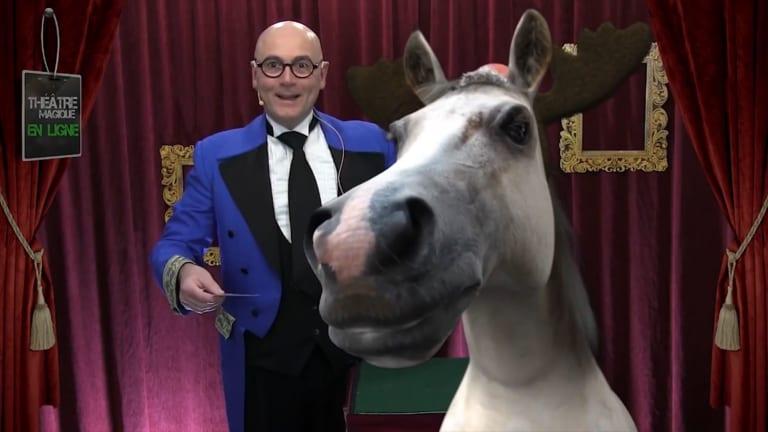 Théâtre magique virtuel | Animation Richard Lacroix