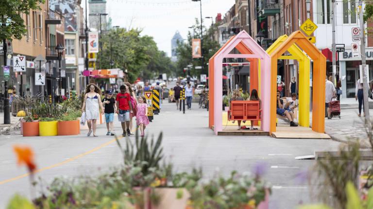 Promenade Ontario piétonne 2021