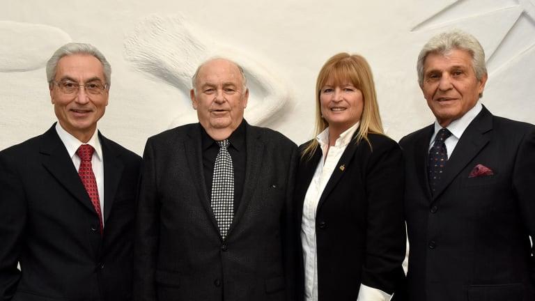 Les élus de l'arrondissement de Saint-Léonard
