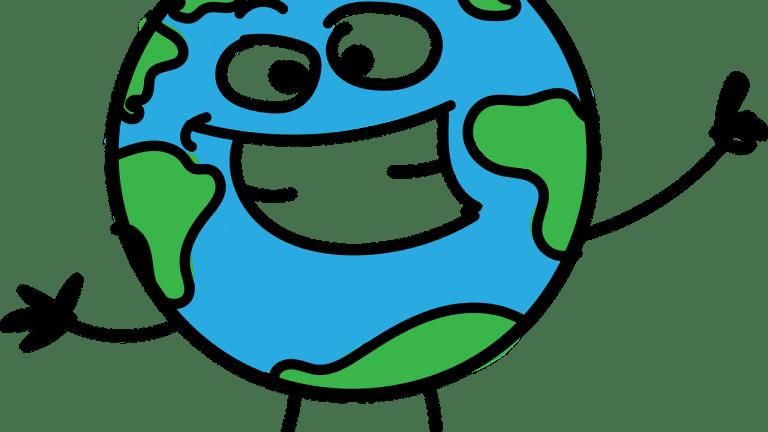 Planète Terre dessinée