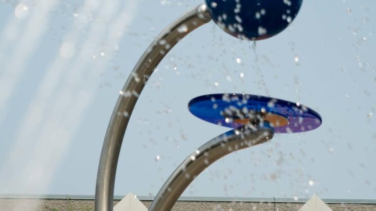 Jeu d'eau du parc Sabrevois
