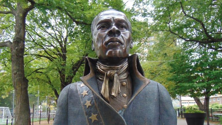 Buste de Toussaint Louverture