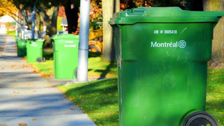 Collecte de matières recyclable à PIerrefonds-Roxboro