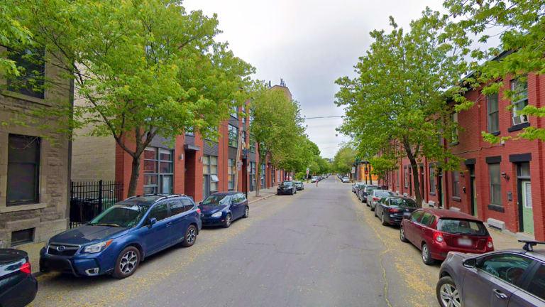 Une rue de l'arrondissement Le Sud-Ouest
