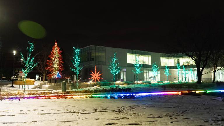 Bibliothèque de Pierrefonds hiver