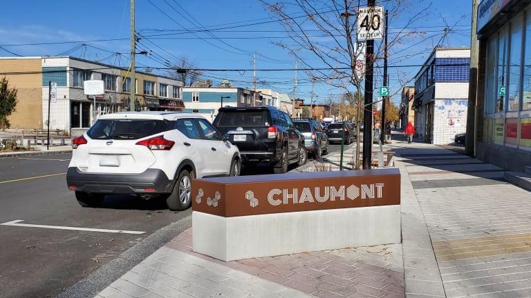 Avenue de Chaumont