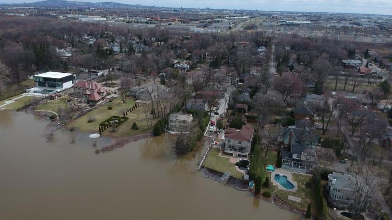 Crue des eaux 2021