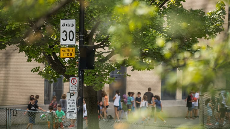 Nouvelles limites de vitesse et voies réservées dans Rosemont–La Petite-Patrie
