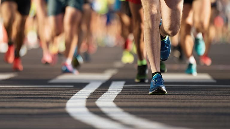Coureurs - Marathon de Montréal