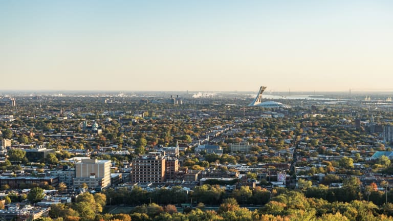 Montréal, vue vers l'est