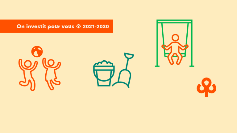 Module pour enfants à Saint-Laurent