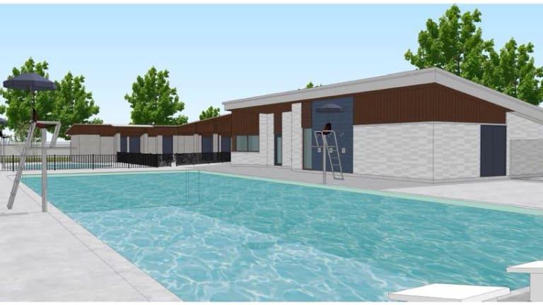 Inauguration de la piscine Versailles de Pierrefonds-Roxboro