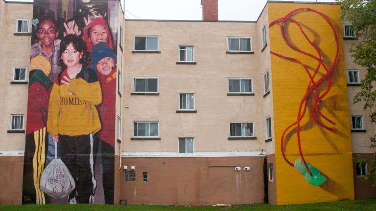Murale : Jade et ses homies
