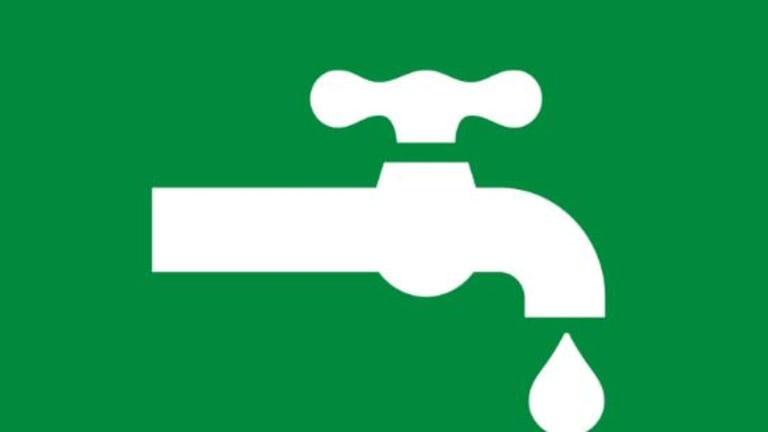 Fermeture d'eau