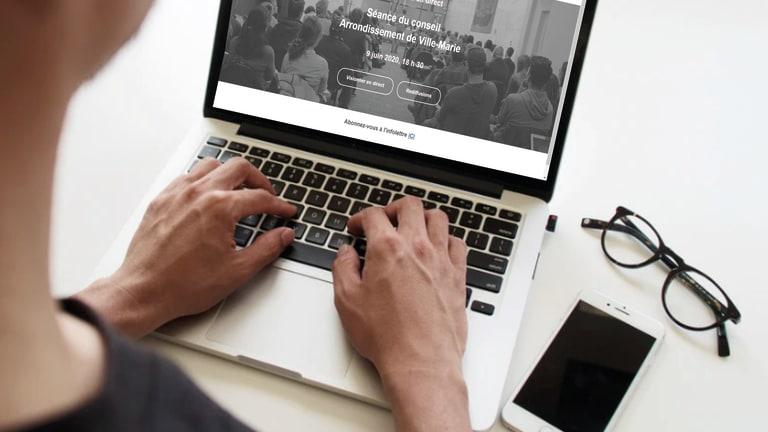 Webdiffusion du conseil d'arrondissement de Ville-Marie