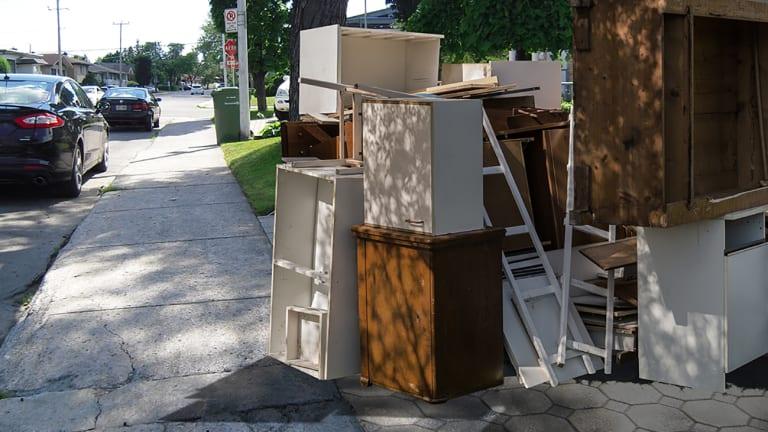 Encombrants et résidus de construction, de rénovation et de démolition
