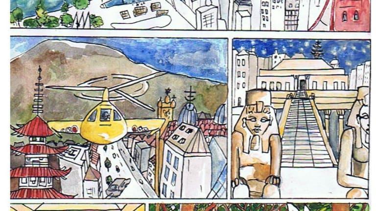 Atelier bande-dessinée par Karine Martineau (alias Madjin, artiste peintre)