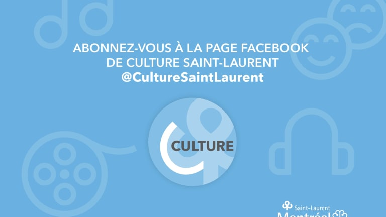 Culture Saint-Laurent sur Facebook