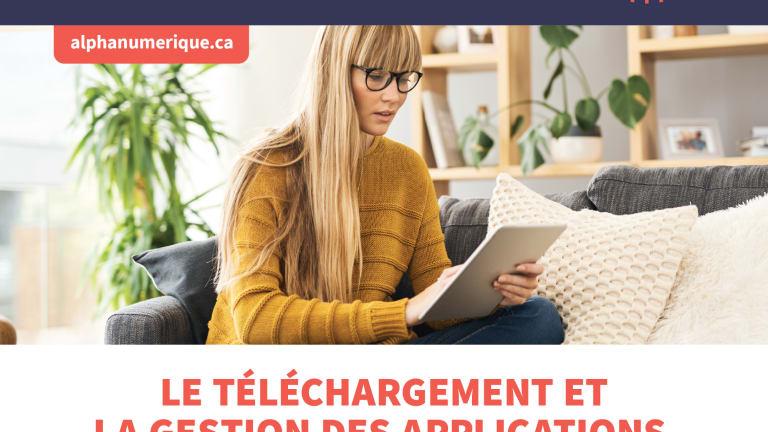 Tablette iPad (niveau 3) : Téléchargement et gestion des applications