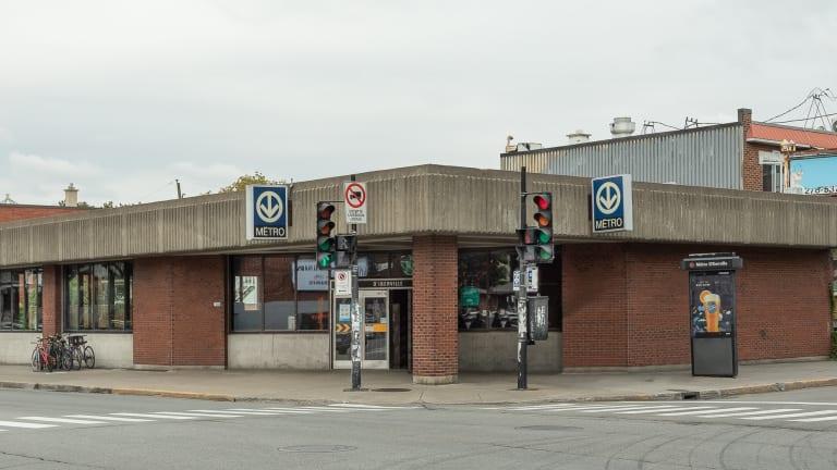 Édicule de la station D'Iberville
