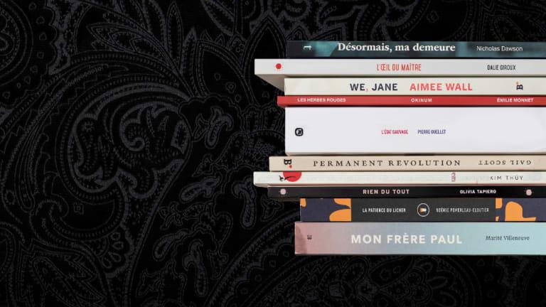Sélection du jury du Grand Prix du livre de Montréal 2021