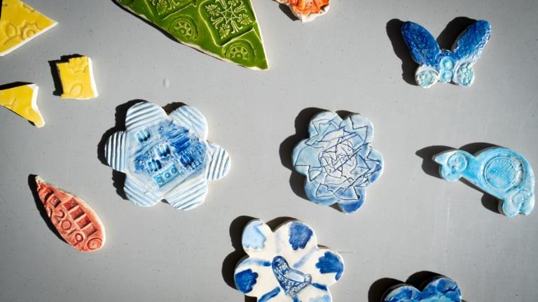 Atelier de façonnage de porcelaine