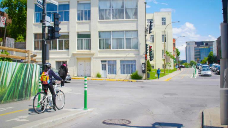 Image de l'intersection Décarie-De Maisonneuve