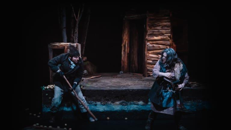 Photo du spectacle Yev - Théâtre Scapegoat Carnivale.