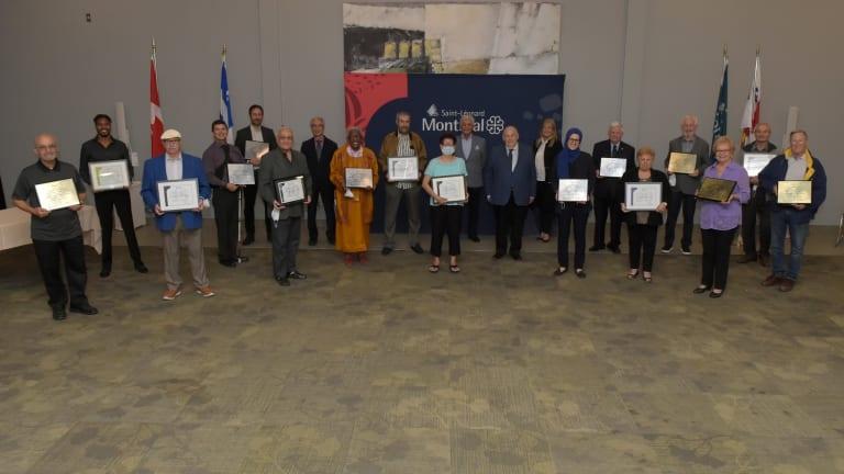 Cérémonie de reconnaissance des organismes à Saint-Léonard