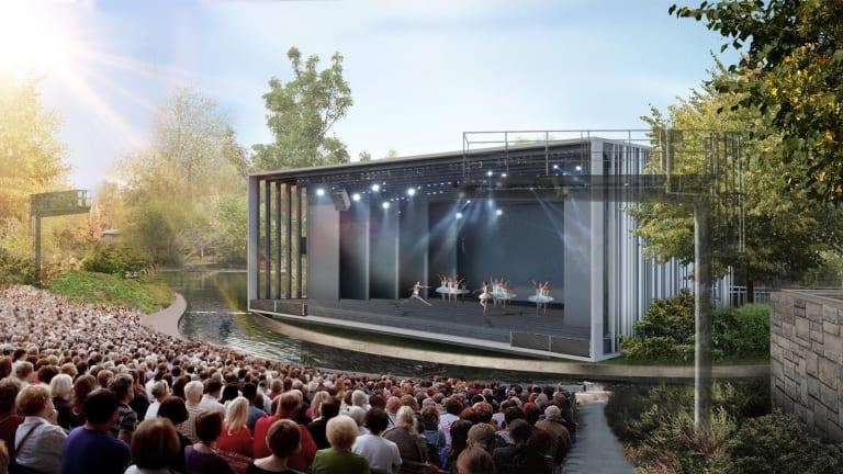 Image du nouveau théâtre de Verdure