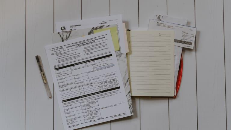 Documents et papiers d'impôts