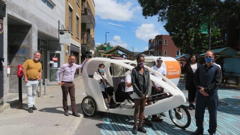 Vélo-Duo pour aînés et personnes à mobilité réduite légère