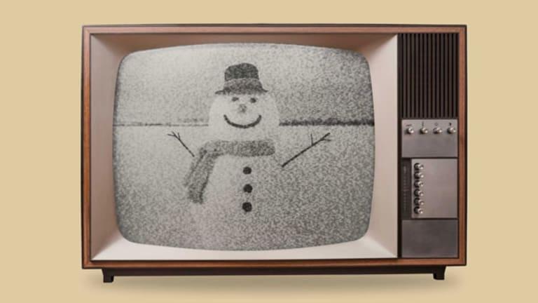 bonhomme de neige télévision