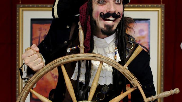 Paradoxe le pirate en spectacle à Anjou le 2 mars