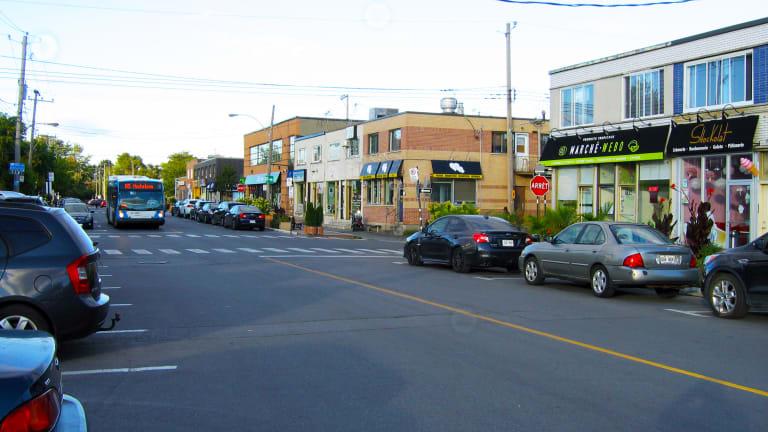 Chaumont dans l'arrondissement d'Anjou à Montréal.