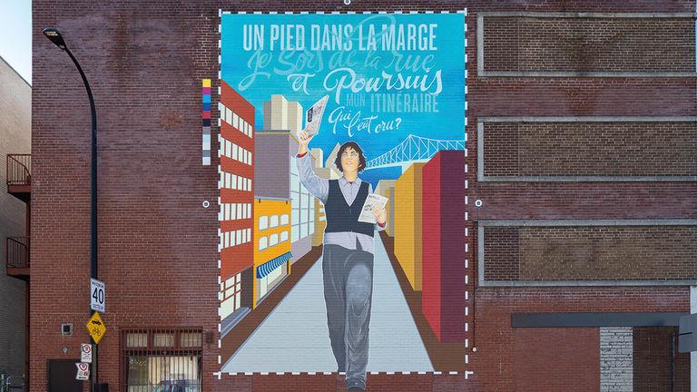 Murale MU L'Itineraire