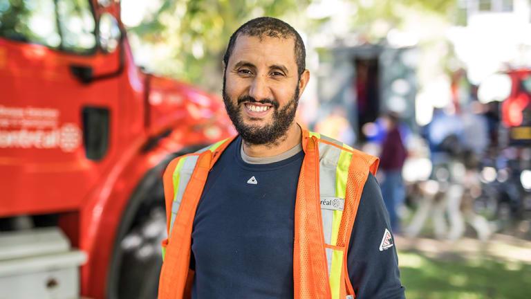 Khalid, employé de Rosemont-La Petite-Patrie