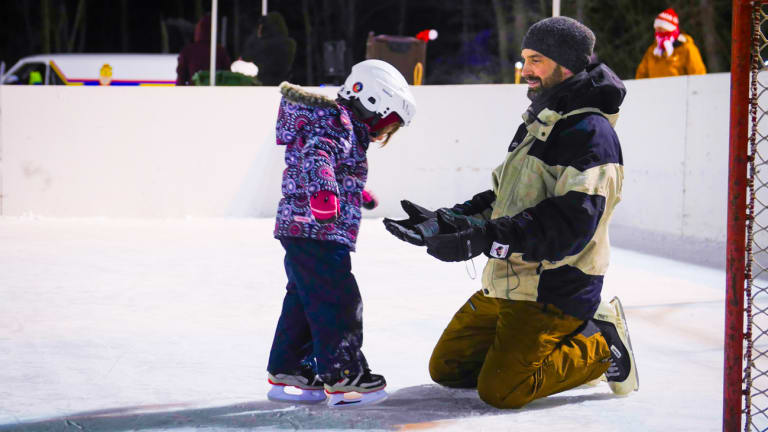 Initiation au hockey et au patin