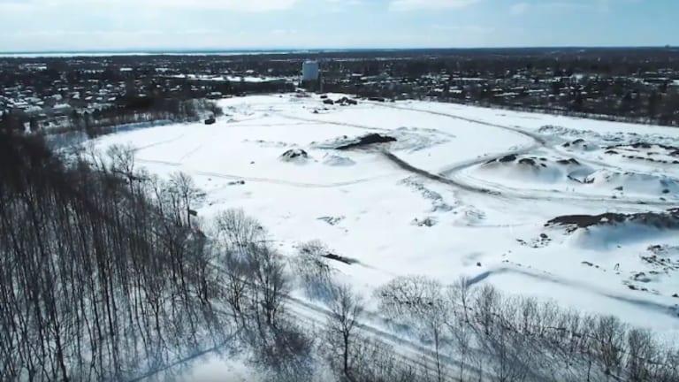 Site d'enfouissement de matériaux secs à Pierrefonds