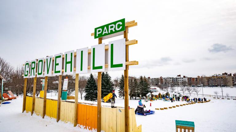 Parc Grovehill.