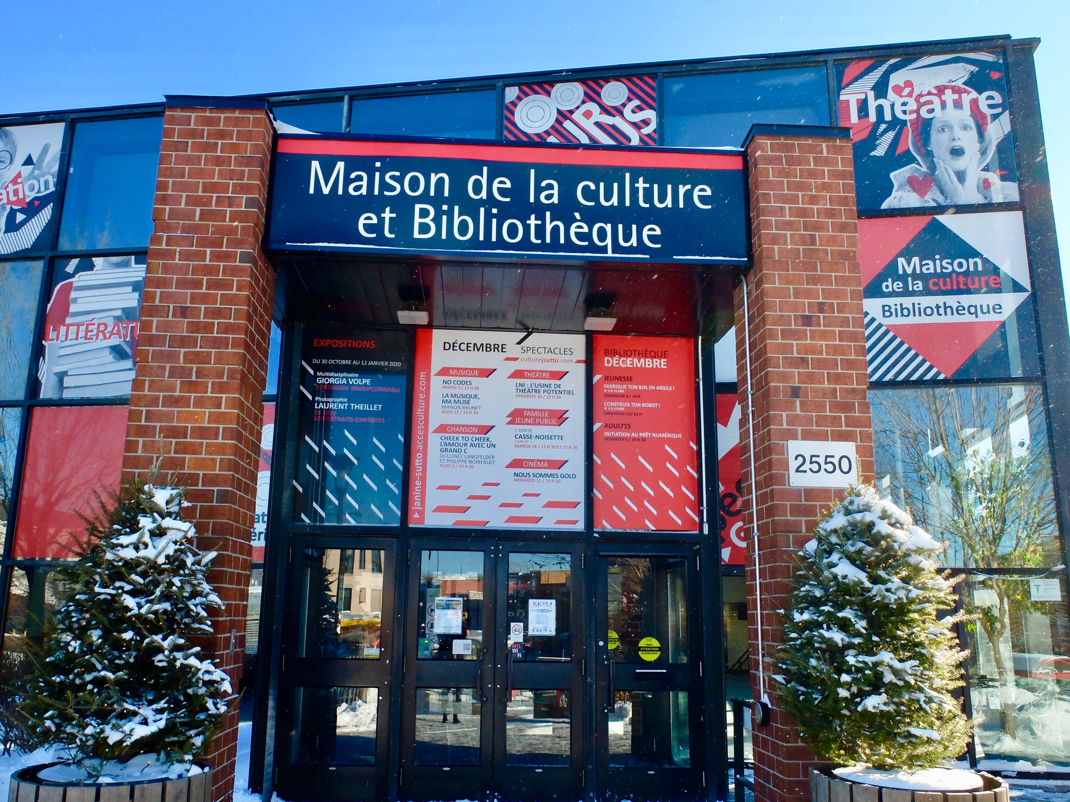 Maison de la culture Janine-Sutto