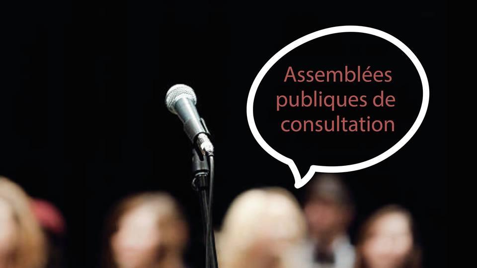 Assemblées publiques de consultation de l'arrondissement de Lachine