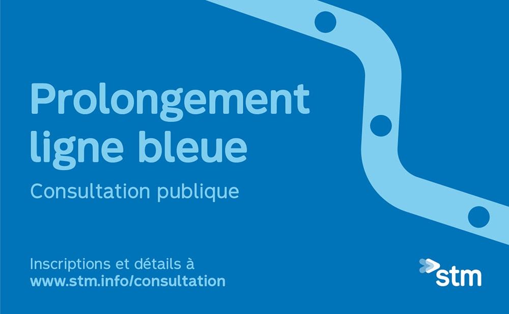 Consultation - Ligne bleue