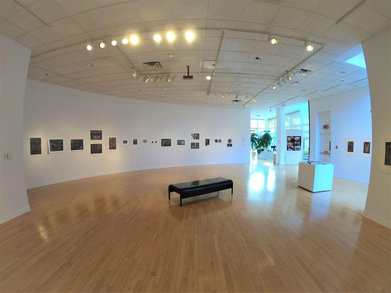 Intérieur de la Galerie d'Outremont