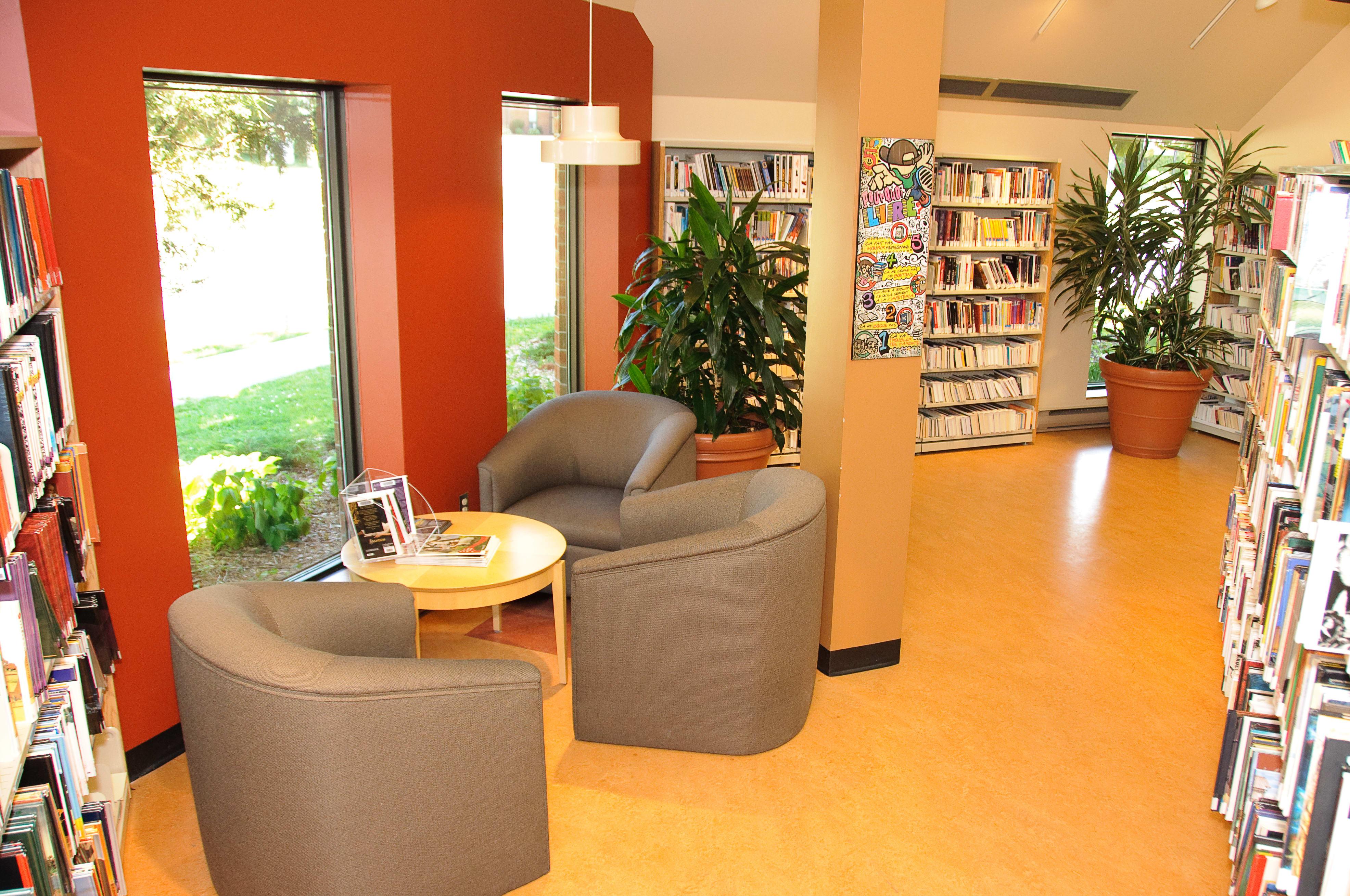 Bibliothèque de l'Île-Bizard.